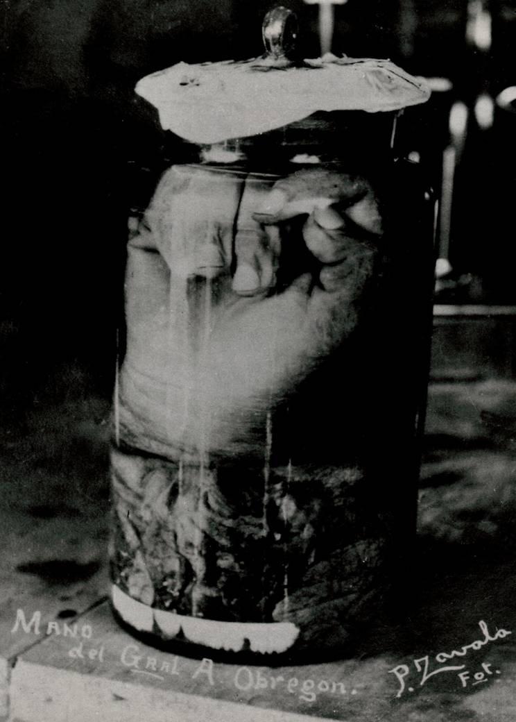 Resultado de imagen para la mano de Obregón