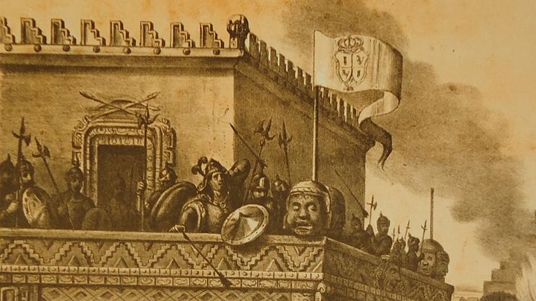 Wikimexico Las Casas Viejas De Moctezuma